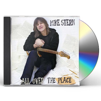 Mike Stern ALL OVER THE PLACE CD