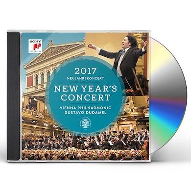 Gustavo Dudamel / Wiener Philharmoniker NEUJAHRSKONZERT / NEW YEAR'S CONCERT 2017 CD