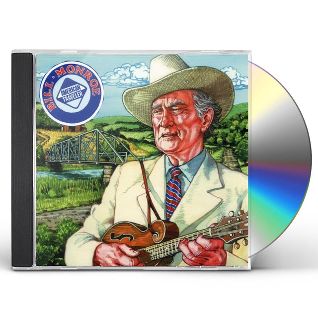 Bill Monroe AMERICAN TRAVELER CD