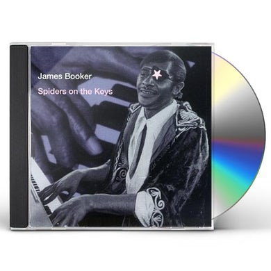 James Booker SPIDERS ON THE KEYS CD