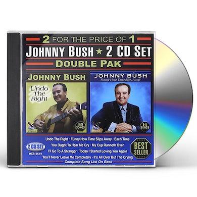 Johnny Bush DOUBLE PAK CD