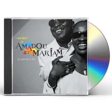 Amadou & Mariam JE PENSE A TOI: BEST OF CD