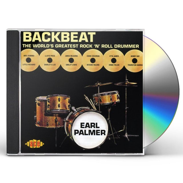 Earl Palmer WORLD'S GREATEST DRUMMER EVER CD