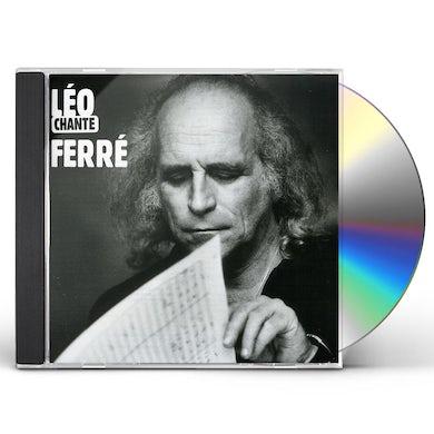 Leo Ferre AVEC LE TEMPS CD