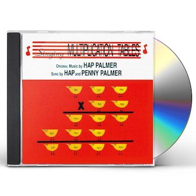 Hap Palmer Singing Multiplication Tables CD