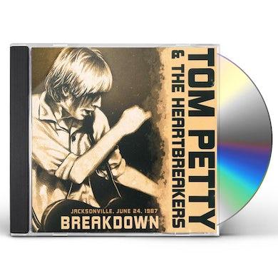 Tom Petty and the Heartbreakers Breakdown/Radio Broadcast CD