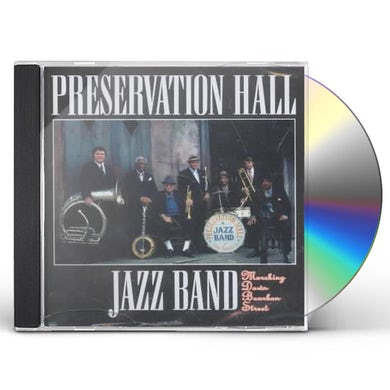 Preservation Hall Jazz Band MARCHING DOWN BOURBON STREET CD