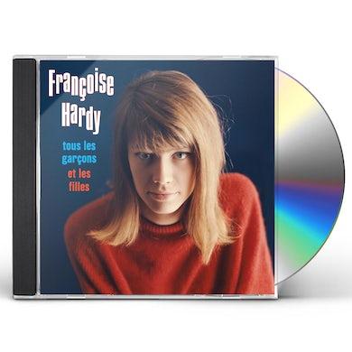 Françoise Hardy Tous Les Garcons Et Les Filles CD