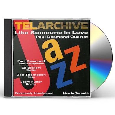Paul Desmond LIKE SOMEONE IN LOVE / LIVE IN TORONTO CD