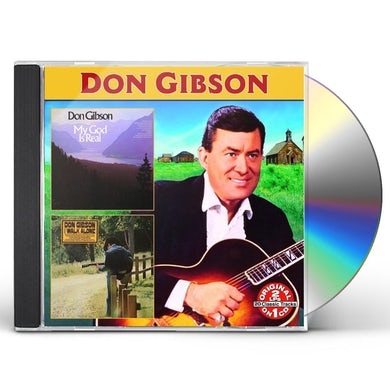 Don Gibson MY GOD IS REAL: I WALK ALONE CD