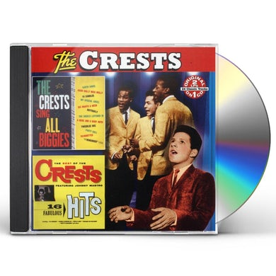 SING ALL BIGGIES / THE BEST OF THE CRESTS CD