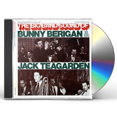 THE BIG BAND SOUNDS OF BUNNY BERIGAN AND JACK CD