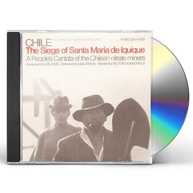 Quilapayun CHILE: SEIGE OF SANTA MARIA DE IQUIQUE CD