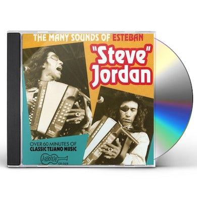 MANY SOUNDS OF STEVE JORDAN CD