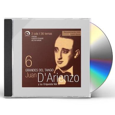 Juan d'Arienzo GRANDES DEL TANGO 6 CD