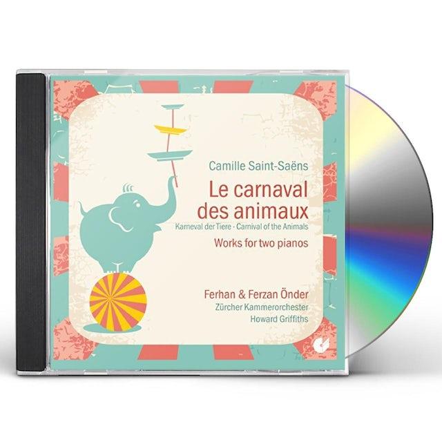Saint-Saens LE CARNAVAL DES ANIMAUX CD