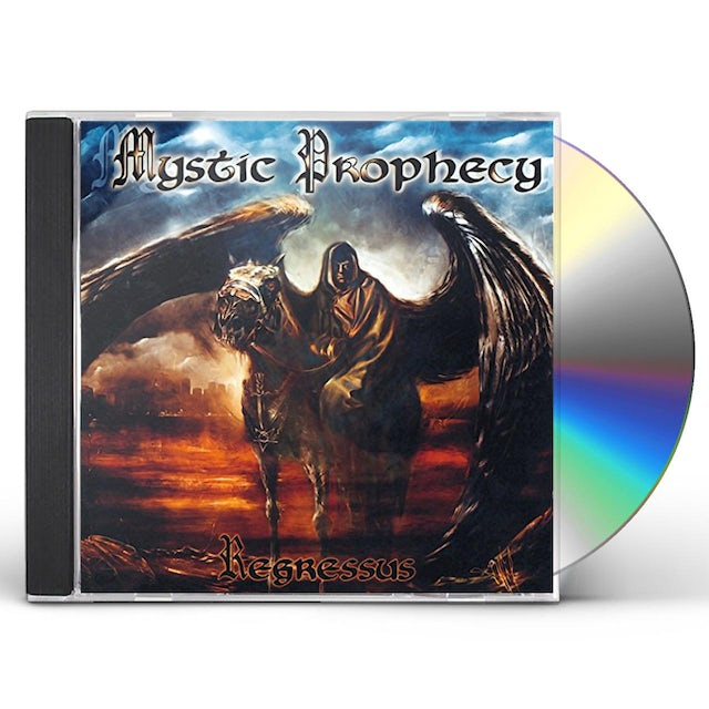 Mystic Prophecy REGRESSUS CD