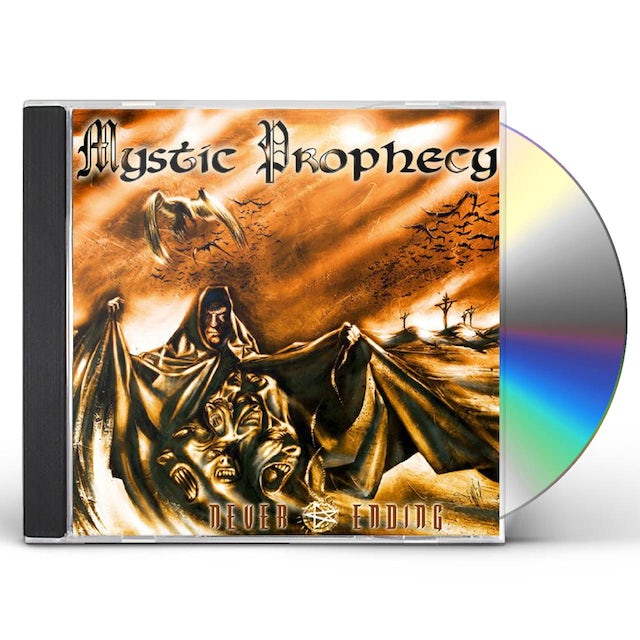 Mystic Prophecy NEVER ENDING CD