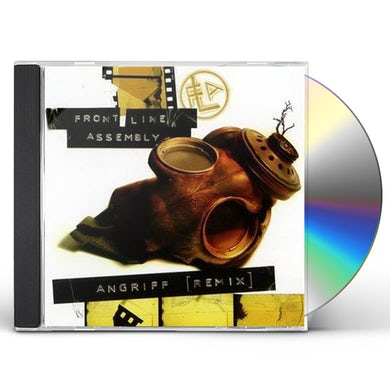 Front Line Assembly ANGRIFF CD