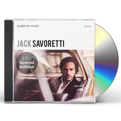 Jack Savoretti SLEEP NO MORE CD