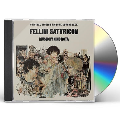 Nino Rota FELLINI SATYRICON - Original Soundtrack CD