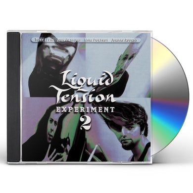 LIQUID TENSION EXPERIMENT 2 CD