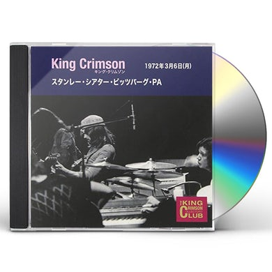 King Crimson COLLECTOR'S CLUB 1972.3.2 CD