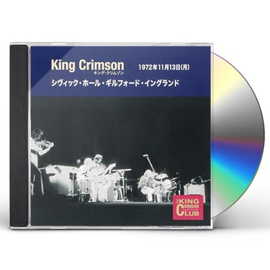 King Crimson COLLECTOR'S CLUB 1972.11.13 CD