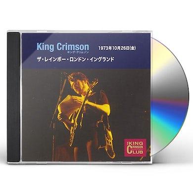 King Crimson COLLECTOR'S CLUB 1973.10.26 CD