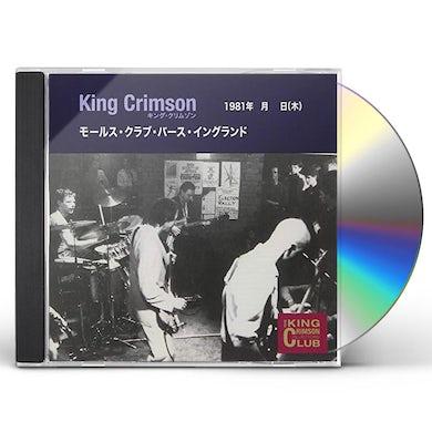 King Crimson COLLECTOR'S CLUB 1981.04.30 LIVE AT MOLES CLUB BAT CD