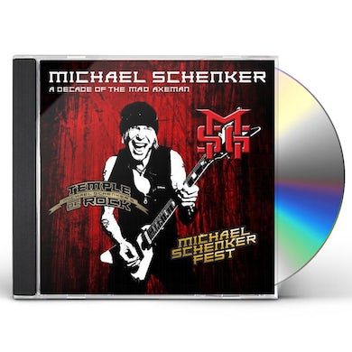 The Michael Schenker Group DECADE OF THE MAD AXEMAN CD