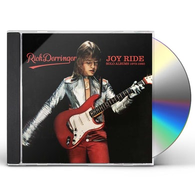 Rick Derringer JOY RIDE: SOLO ALBUMS 1973-1980 CD