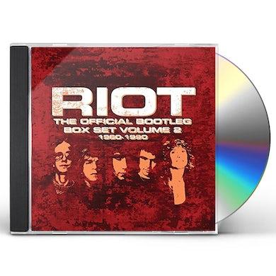 Riot OFFICIAL BOOTLEG BOX SET 1980-1990 VOL 2 CD