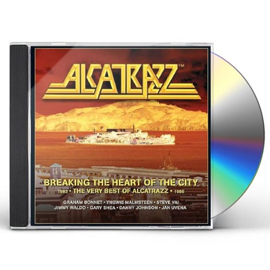 Alcatrazz BREAKING THE HEART OF THE CITY: VERY BEST OF CD