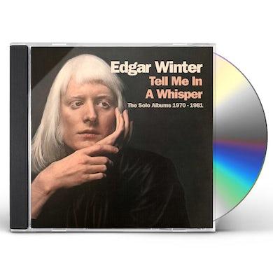 Edgar Winter TELL ME IN A WHISPER CD