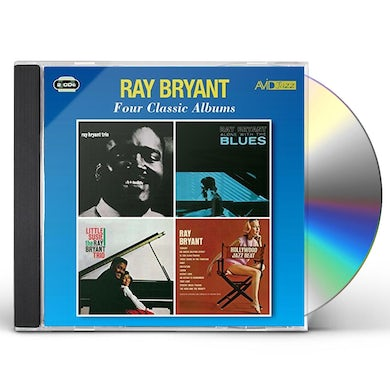 Ray Bryant TRIO 1956 / ALONE WITH THE BLUES / LITTLE SUSIE CD
