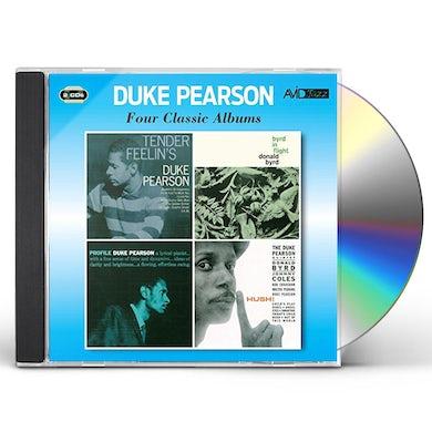 Duke Pearson TENDER FEELIN'S / BYRD IN FLIGHT / PROFILE / HUSH CD