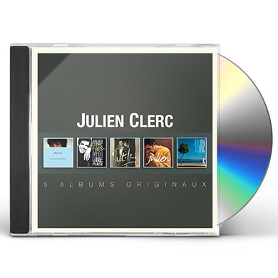 Julien Clerc ORIGINAL ALBUM SERIES CD