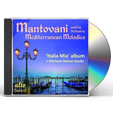 Mantovani MEDITERRANEAN MELODIES CD