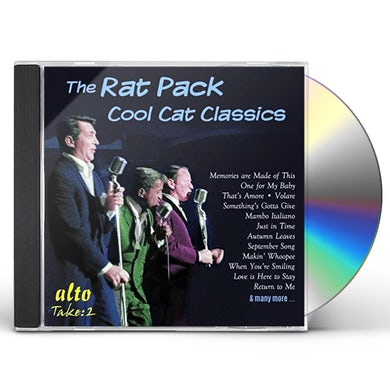 Rat Pack COOL CAT CLASSICS SINATRA MARTIN DAVIS JR. CD