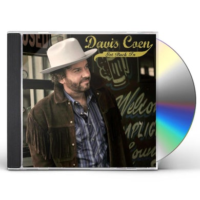 Davis Coen GET BACK IN CD