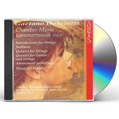 Donizetti CHAMBER MUSIC 3 CD