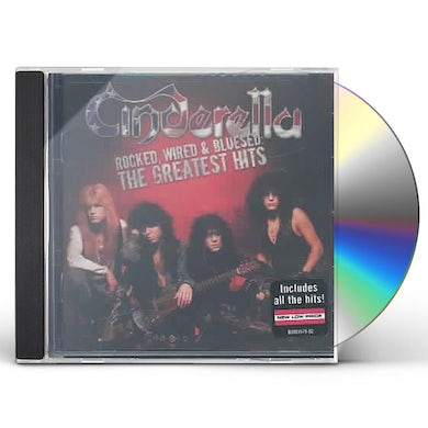Cinderella ROCKED WIRED & BLUESED: THE GREATEST HITS CD