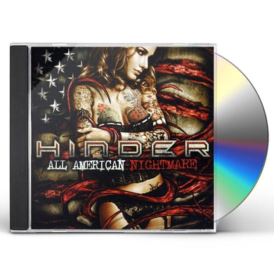 Hinder ALL AMERICAN NIGHTMARE CD