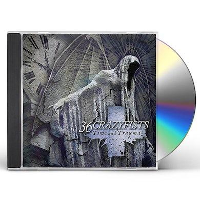 36 Crazyfists TIME & TRAUMA CD