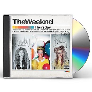 The Weeknd THURSDAY CD