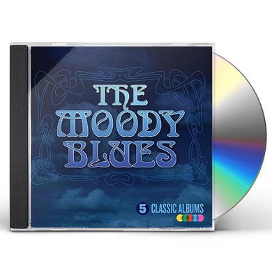 The Moody Blues 5 CLASSIC ALBUMS CD