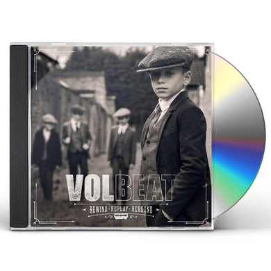 Volbeat REWIND REPLAY REBOUND CD