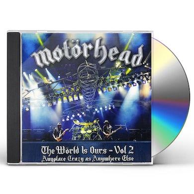 Motorhead WORLD IS OURS 2 CD