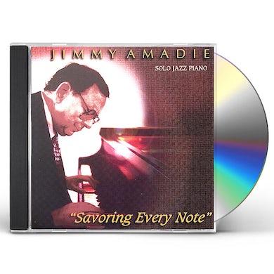 Jimmy Amadie SAVORING EVERY NOTE CD